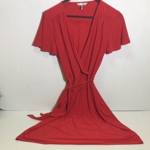 NWOT Ellen Tracy Lipstick Red Small Ladies Dress
